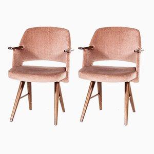 FT30 Esszimmerstühle aus Teak von Cees Braakman für Pastoe, 1950er, 2er Set