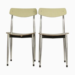 Italian Chairs from Safil Ancona, 1960s, Set of 2