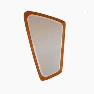 Vintage Danish Free Form Mirror, 1960s