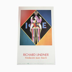 Screen Printed Poster by Richard Lindner, 1998