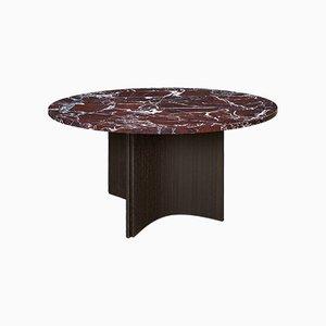 Table de Salle à Manger Levante en Marbre et Placage de Chêne par Daniel Nikolovski & Danu Chirinciuc pour KABINET, 2019