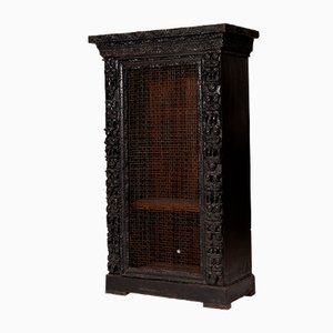 Antique Ebony Cabinet