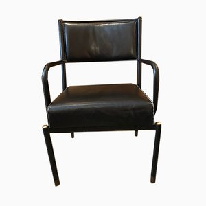 French Desk Chair by Jacques Adnet, 1950s