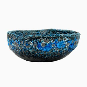 Scodella in ceramica smaltata di Charles Cart per Cyclope Emaux Des Glacier, anni '60