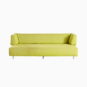 Man and Woman Lime Sofa by Francesco Binfaré for Edra, 1993