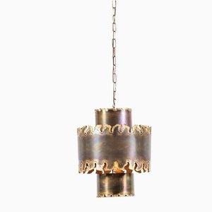 Lámpara colgante de Svend Aage Holm Sørensen para Holm Sørensen & Co, años 60