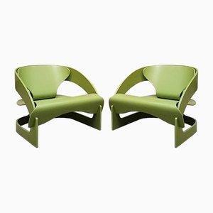 Modell 4801 Sessel von Joe Colombo für Kartell, 1964, 2er Set