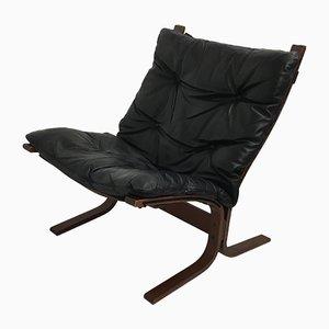 Sessel aus Buche & Leder von Ingmar Relling, 1960er