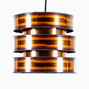Brutalist Pendant Light by Svend Aage Holm Sørensen for Holm Sørensen & Co, 1960s