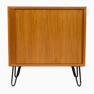 Danish Steel and Teak Dresser by Poul Hundevad for Hundevad & Co., 1960s