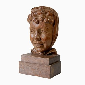 Wooden Sculpture from Vanhumbeeck, 1930s