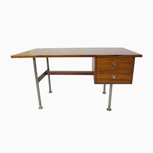 Scrivania in acciaio e legno di Rudolf Glatzel per Fristho, anni '60