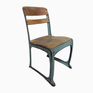 Industrial American Chair, 1940s