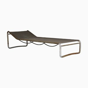 Bauhaus B15 Tubular Steel Daybed by Marcel Breuer, 1930s