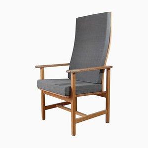 Armlehnstuhl von Borge Mogensen für Fredericia Stolefabrik, 1970er