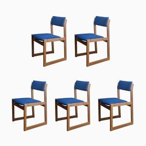 Stühle von Korup Stolefabrik, 1960er, 5er Set