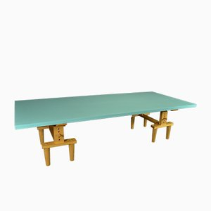 Reversible Bramante Dining Table by Castiglioni Brothers for Zanotta, 1980s