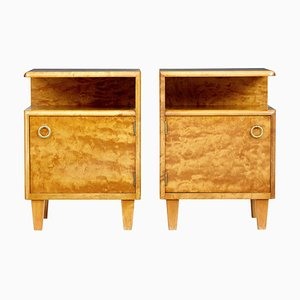 Mid-Century Model Sonja Nightstands by Möbel AB Altorp, 1950s, Set of 2