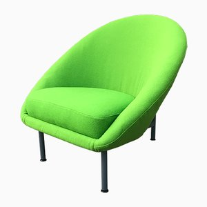 Modell 115 Armlehnstuhl aus Stoff & Stahl von Theo Ruth für Artifort, 1960er
