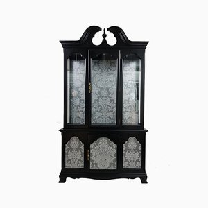 Large Vintage Black Armoire
