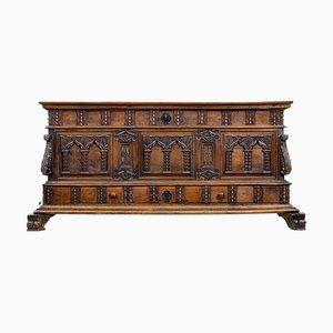 Mueble con cajones antiguo de nogal