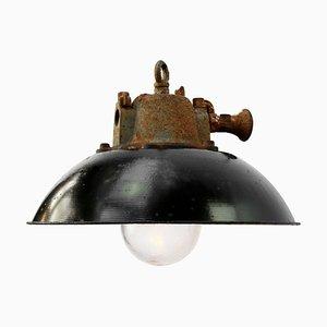 Lampe à Suspension Vintage en Fonte, 1950s