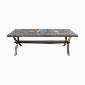 Table Basse Mid-Century par Adri Belgique, 1960s