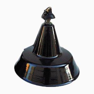 Industrielle Mid-Century Deckenlampe aus Eisen
