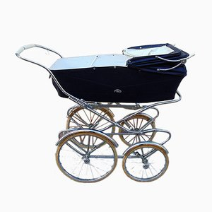 Mid-Century Iron Children's Pram from PEG, 1960s