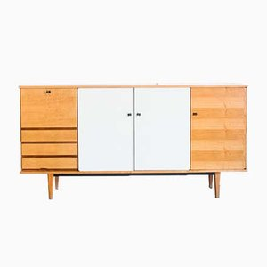 High Mid-Century French Oak Sideboard, 1960s