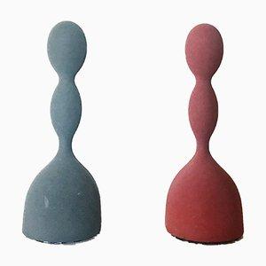 Lampade da tavolo Virgo di Ilaria Gibertini per Nemo, anni '90, set di 2