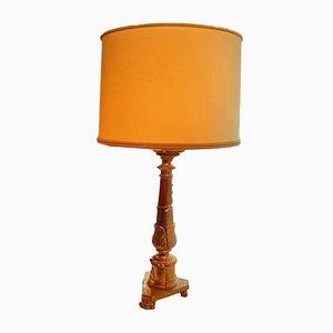 Lampada da terra Luigi XV antica, XVIII secolo