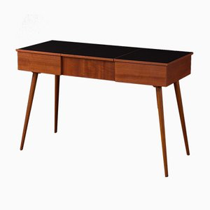 Mid-Century Wood and Formica Desk, 1950s