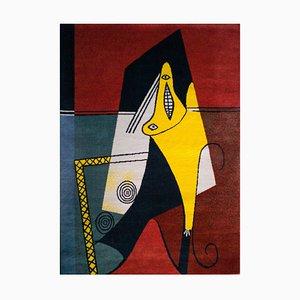 Großer niederländischer Pablo Picasso Wollteppich von Desso, 1994