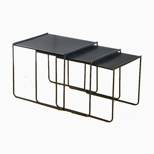 Spanish Metal Nesting Tables, 1980s
