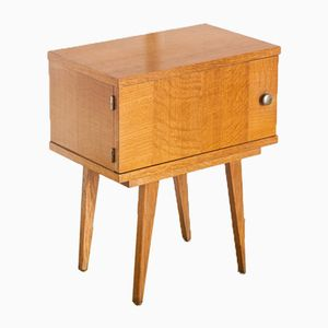 Mid-Century French Oak Nightstand, 1960s