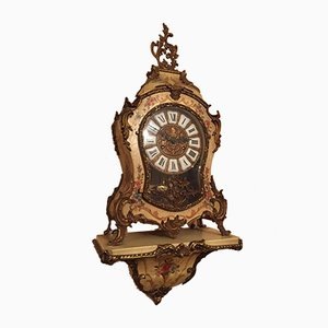 Cartel Uhr im Louis XV Stil, 1950er