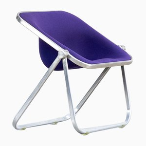 Italian Plona Folding Chair by Giancarlo Piretti for Castelli, 1970s
