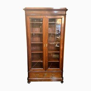 Libreria antica in mogano