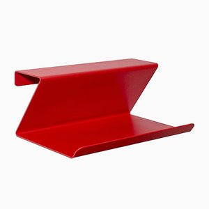 Red Vinco Wall Shelf by Mendes Macedo for Galula