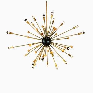 Vintage Sputnik Kronleuchter von Stilnovo, 1950er