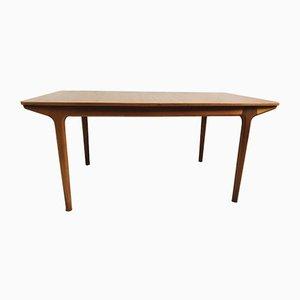 Ausziehbarer Esstisch aus Teakholz von Tom Robertson für McIntosh, 1950er
