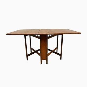 Tavolo da pranzo pieghevole di Tom Robertson per McIntosh, anni '60