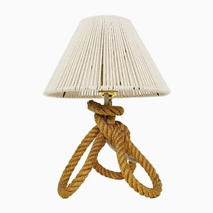 Mid-Century French Rope Table Lamp, 1950s