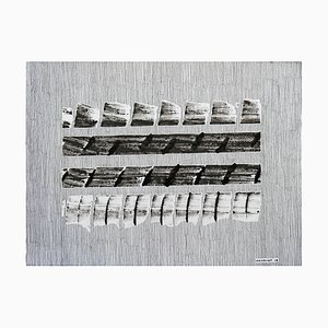 N ° 662 Stegosaurus Acrylfarbe auf Papier von Jeremiah Iordanof, 2018