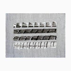N°662 Stegosaurus Acrylic Ink on Paper by Jeremiah Iordanof, 2018