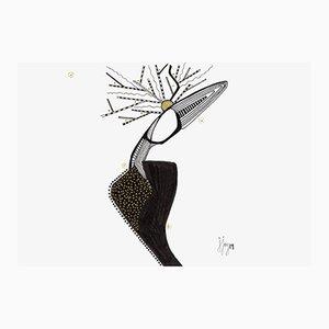 Les racines Zeichnung von Jjoy, 2019