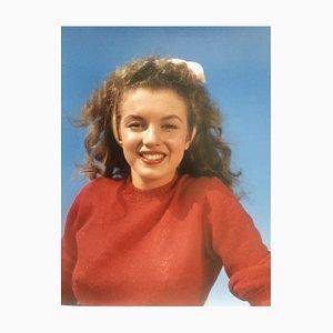 Norma Jean in Red Photograph by André de Dienes, 2006