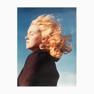 Marilyn in the Wind Photograph by André de Dienes, 2006