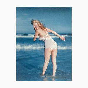 Photographie Marilyn Monroe La Plage par André de Dienes, 2006